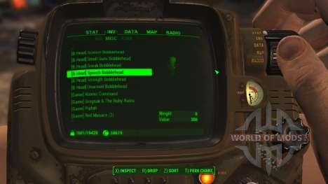 Faciliter le tri des éléments pour Fallout 4