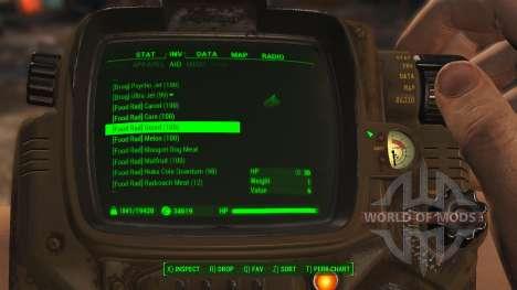Einfache Sortierung der Elemente für Fallout 4