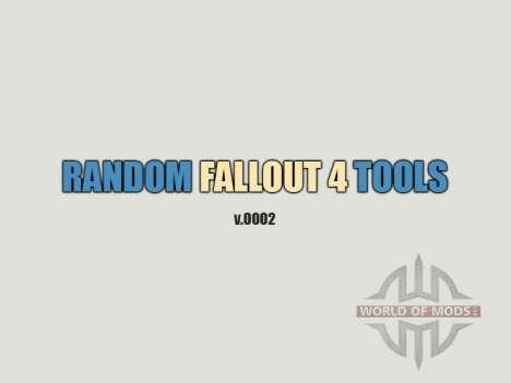 Random Fallout 4 Tools [build 0002] für Fallout 4