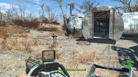 Lowered Weapons pour Fallout 4