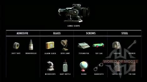 1000 matériaux pour l'artisanat pour Fallout 4