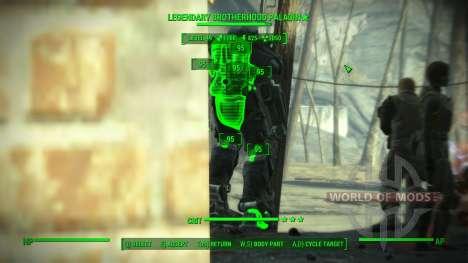 Genauigkeit im V. A. T. S. für Fallout 4