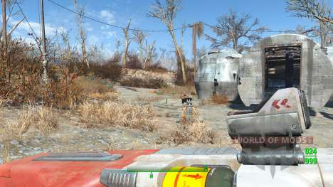 Lowered Weapons für Fallout 4