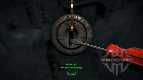Einfach lockpicking für Fallout 4
