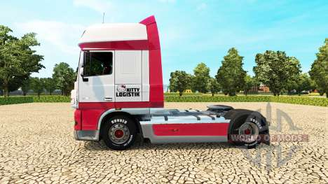 Kitty Logistik skin for DAF truck für Euro Truck Simulator 2