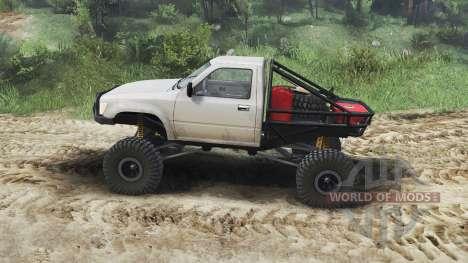 Toyota Hilux Truggy 1990 [23.10.15] für Spin Tires