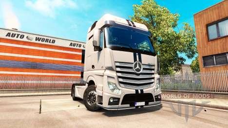 Mercedes-Benz Actros MP4 für Euro Truck Simulator 2