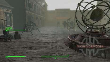 Die teleporter in den Raum Entwickler für Fallout 4