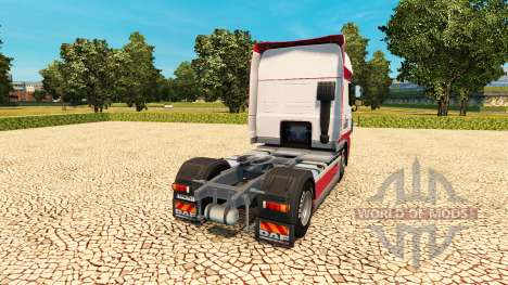 Kitty Logistique skin for DAF truck pour Euro Truck Simulator 2