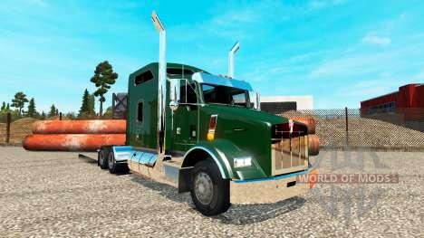 Kenworth T800 v1.0 für Euro Truck Simulator 2