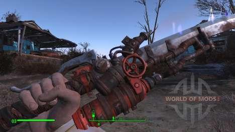 Tricher sur l'arme la plus puissante pour Fallout 4