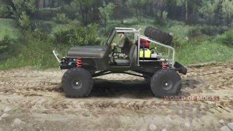 Jeep Wrangler JK8 Crawler [23.10.15] für Spin Tires