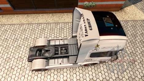 La peau Vabis Groupe Trans pour le véhicule trac pour Euro Truck Simulator 2