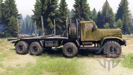 KrAZ-256 8x8 Custom für Spin Tires