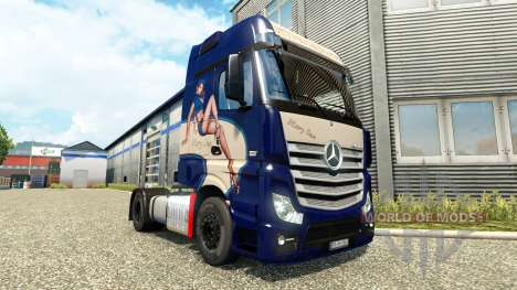 Mercedes-Benz Actros MP4 [Mary Sue Edition] für Euro Truck Simulator 2