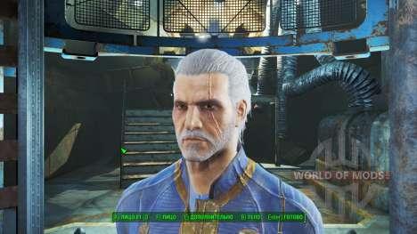 Geralt von Riva für Fallout 4