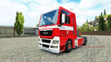 Haut Max Goll auf dem LKW MAN für Euro Truck Simulator 2