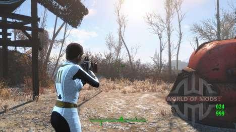 Combinaison blanche Voûte 111 pour Fallout 4