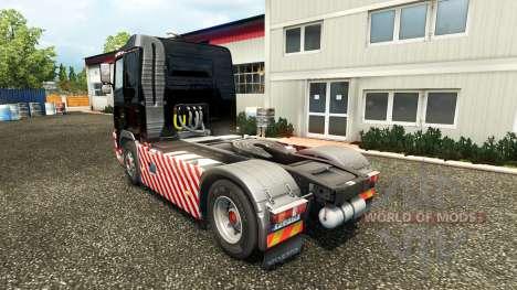 Schwerlasttransport skin for Volvo truck für Euro Truck Simulator 2