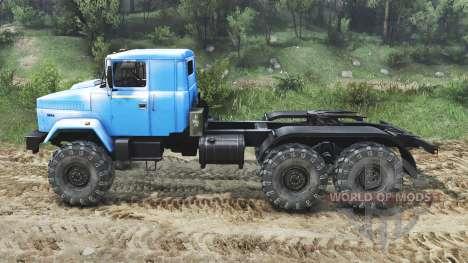 Le KrAZ-63221 [23.10.15] pour Spin Tires