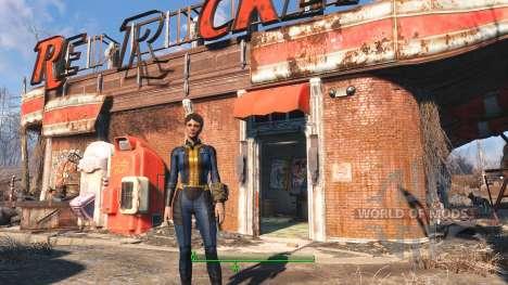 Proto Vault Suit pour Fallout 4