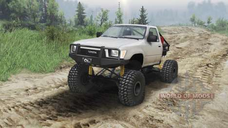 Toyota Hilux Truggy 1990 [23.10.15] pour Spin Tires
