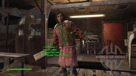 Fixer les dialogues (en anglais) pour Fallout 4