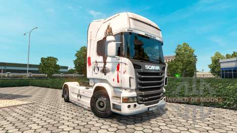 Assassins Creed skin für Scania LKW für Euro Truck Simulator 2