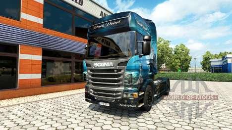 Black Pearl skin für Scania LKW für Euro Truck Simulator 2