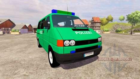 Volkswagen Transporter T4 Police pour Farming Simulator 2013