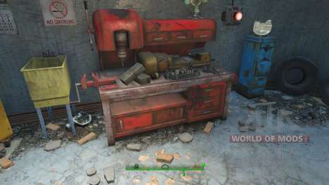 Tricher sur les matériaux pour l'artisanat pour Fallout 4