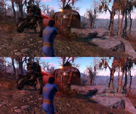 Enhanced Wasteland Preset pour Fallout 4