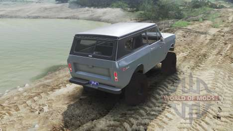 International Scout II 1977 [agent silver] pour Spin Tires