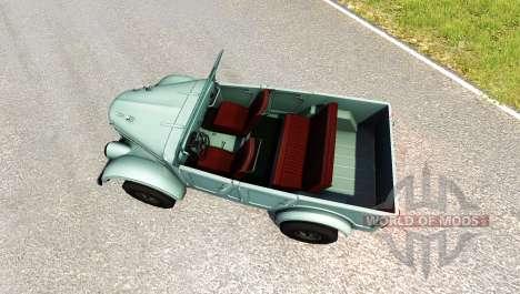 GAZ-69A für BeamNG Drive