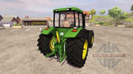 John Deere 7710 v2.3 für Farming Simulator 2013