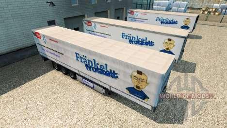 La peau est Harald Frankel sur la remorque pour Euro Truck Simulator 2