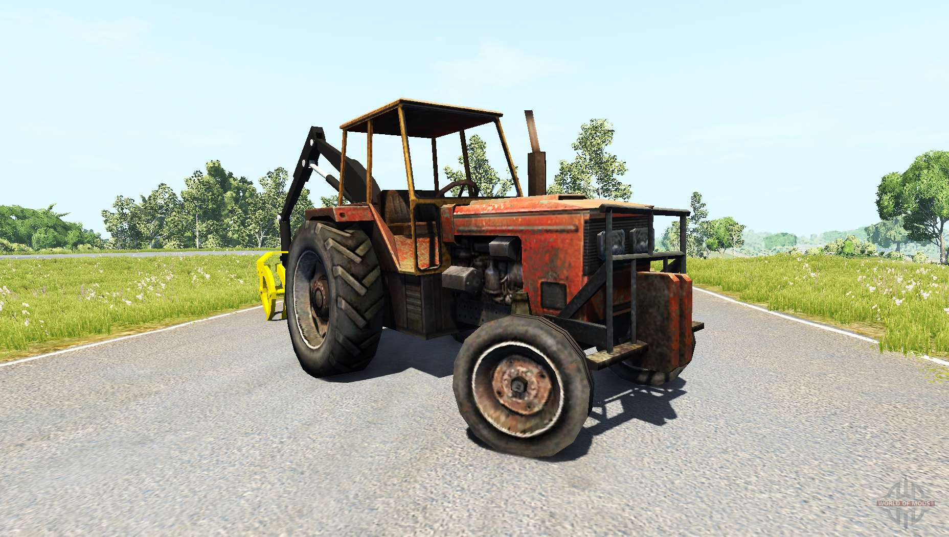 Claw tractor pour beamng drive - Tracteur cars ...