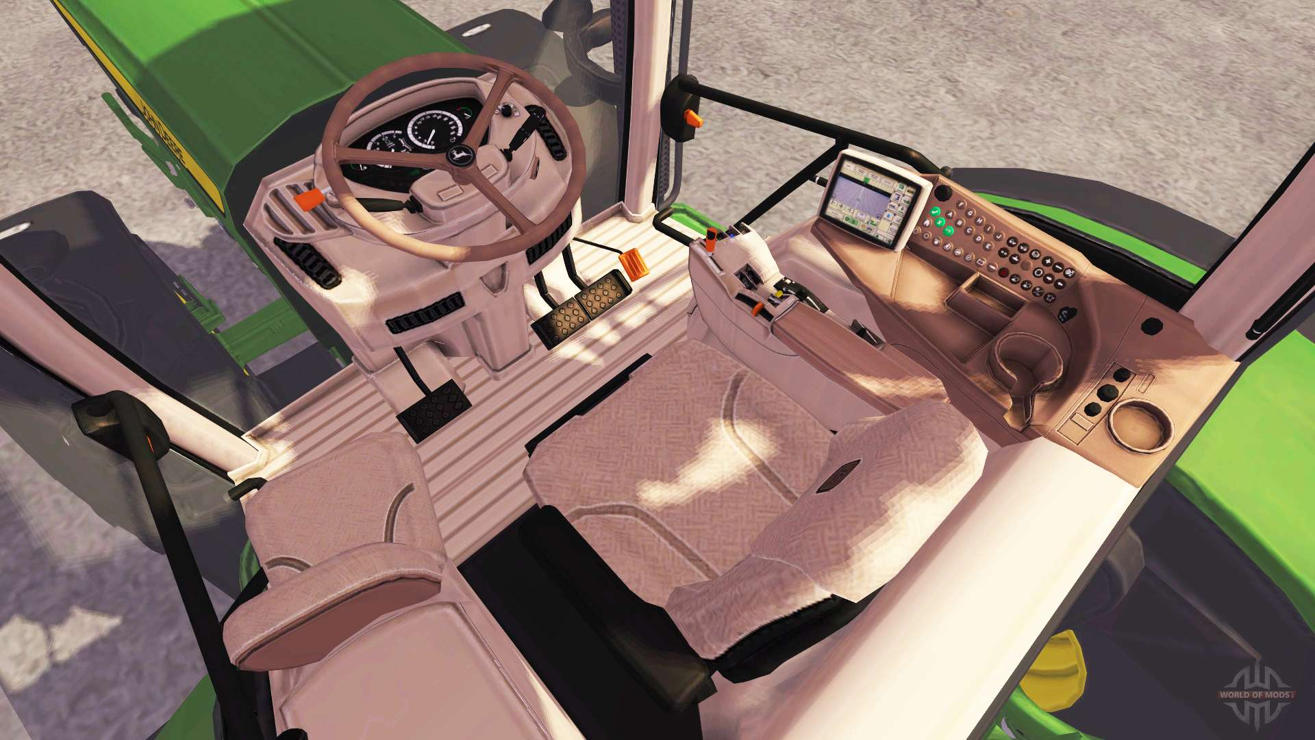John deere 6210r v2 6 pour farming simulator 2013
