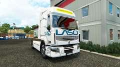 La peau LASO pour Renault tracteur