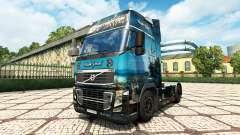 Black Pearl skin für den Volvo truck