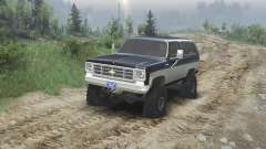 Chevrolet K5 Blazer 1975 [black and silver]