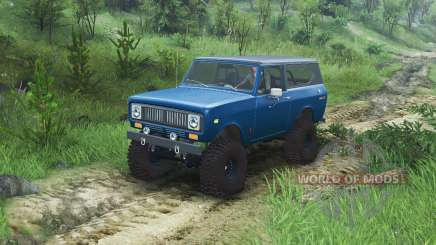 International Scout II 1977 [bimini blue poly] für Spin Tires