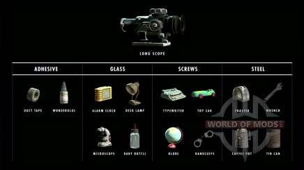 1000 Materialien zum basteln für Fallout 4