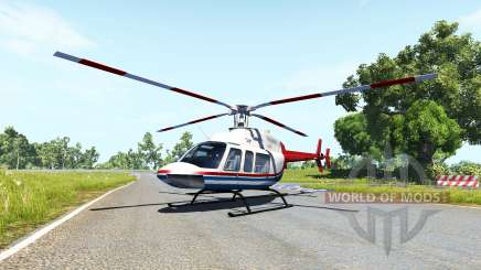 Bell 407 v1.01 pour BeamNG Drive