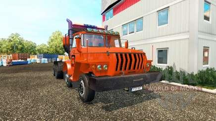 Ural 43202 v2.0 für Euro Truck Simulator 2
