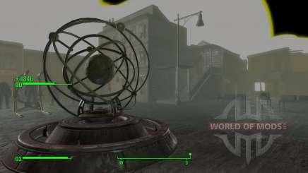 Le téléporteur dans la salle de développeurs pour Fallout 4