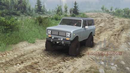 International Scout II 1977 [agent silver] für Spin Tires