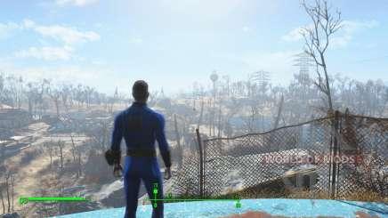 Enregistrer avant de quitter la chapelle pour Fallout 4