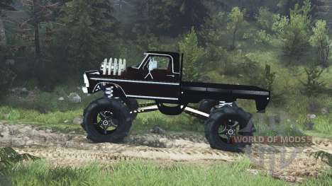Ford F-100 pour Spin Tires