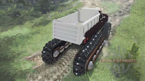 Half Track Prototype [08.11.15] pour Spin Tires
